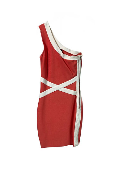 Guess By Marciano One Shoulder Dress