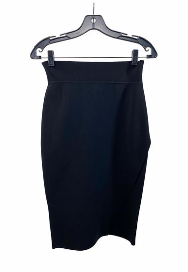 Black Midi Bandage Skirt