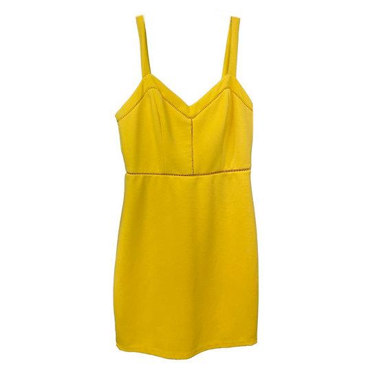 Michele Bohbot Yellow Dress