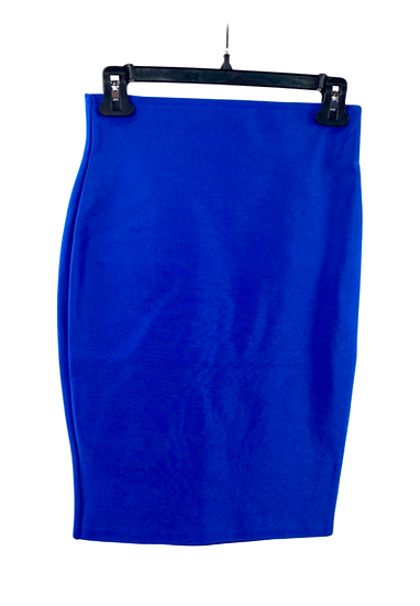 Electric Blue Pencil Skirt