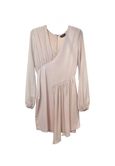 Bebe Pale Pink Mini Dress