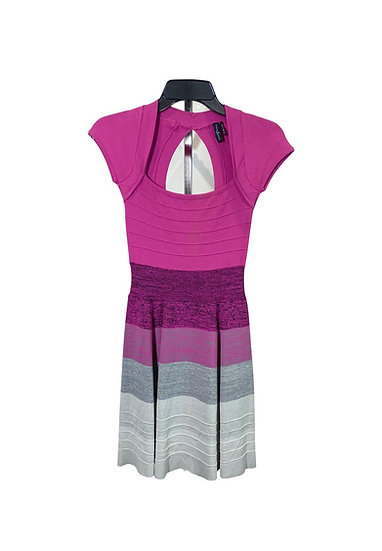 Guess By Marciano Pink & Grey Dress