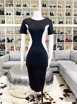 B&W Dress
