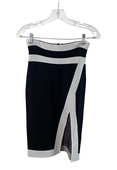 B&W Pencil Skirt