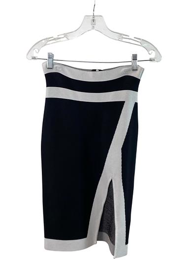 B&W Pencil Skirt