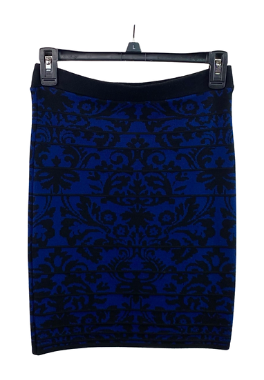 Black & Blue Skirt