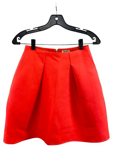 Kenzo Orange Skirt