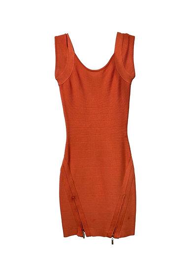 Guess by Marciano Orange Mini Dress
