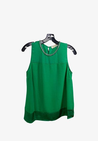 Michael Kors Green Chain Top