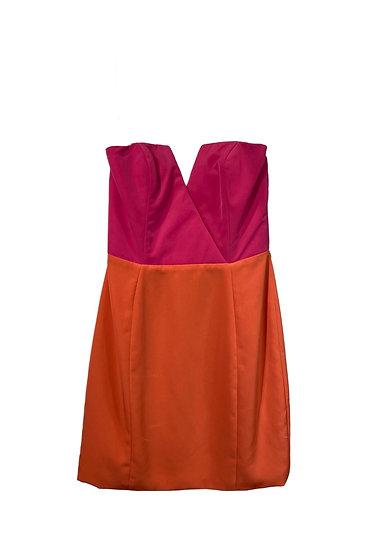 Naven Strapless Mini Dress