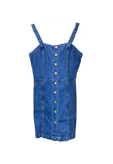 Denim Button Down Dress