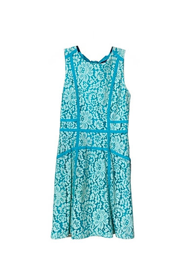 Marciano Turquoise Lace Dress