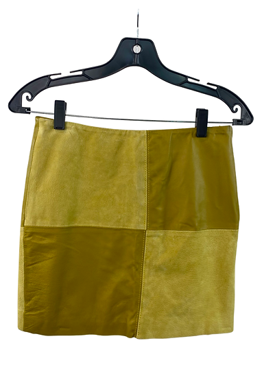 Yellow Patch Skirt