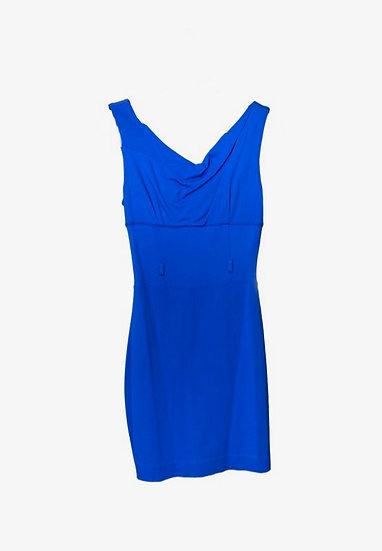 Bebe Blue Dress