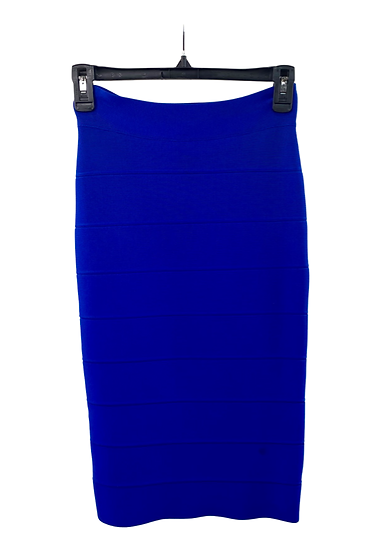 Midi Blue Pencil Skirt