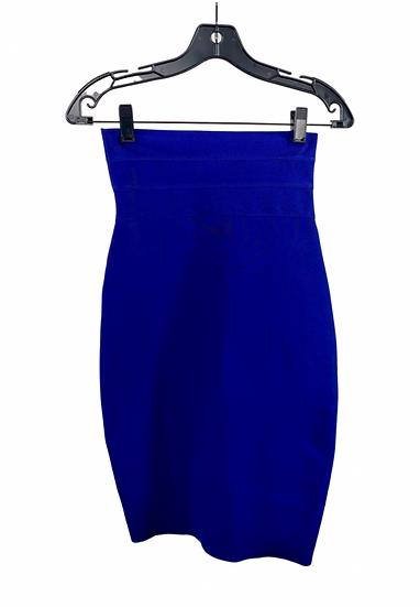 Electric Blue Pencil Skirt