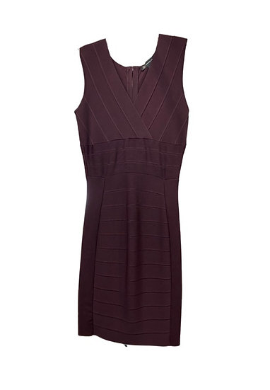 Deep Brown Bodycon Dress