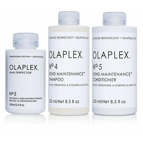 Olaplex Kit Tratamiento N°3, N°4 y N°5