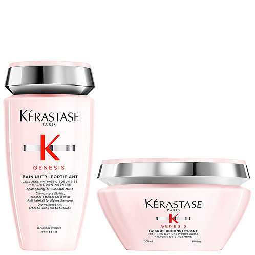 Kérastase Génesis Shampoo Nutri + Mascara Reconstituant