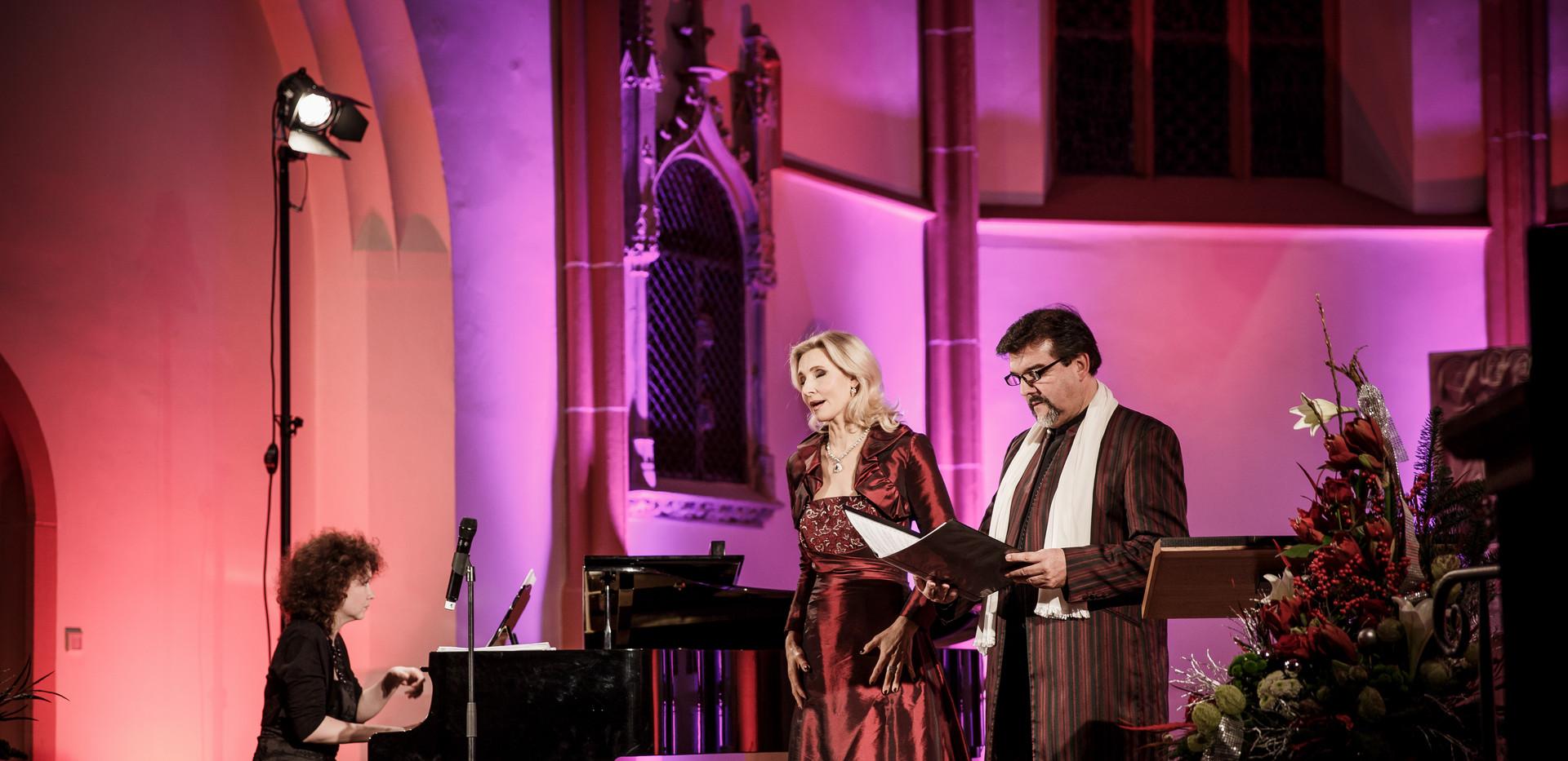 Weihnachtskonzert mit Eva Lind und German Tenors