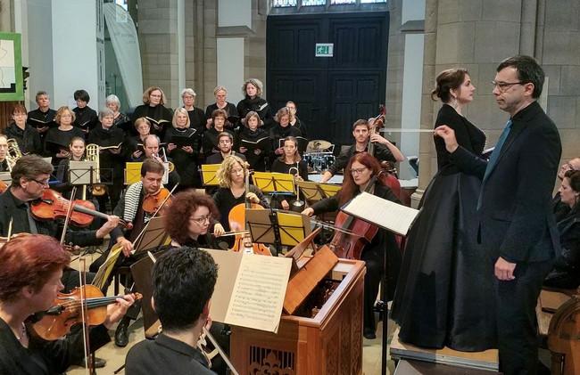 Konzert in Salvator Kirche Duisburg mit Requiem von W.A. Mozart
