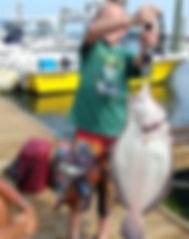fluke, new jersey fishing, charter boat, kids fishing, recored fluke for son, saltwater fishing, charter boat, nj fishing
