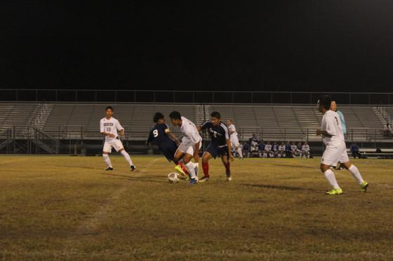 RVHS Soccer Takes On Spoto