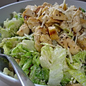 Half Pan: Chicken Caesar Salad