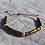 Thumbnail: Natural hematite bracelet 1600