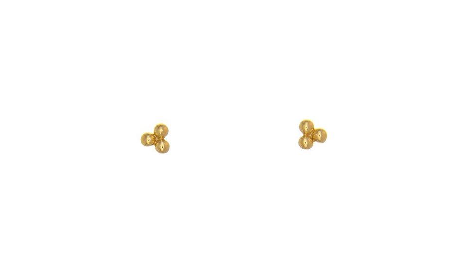 Earrings 3 little dots