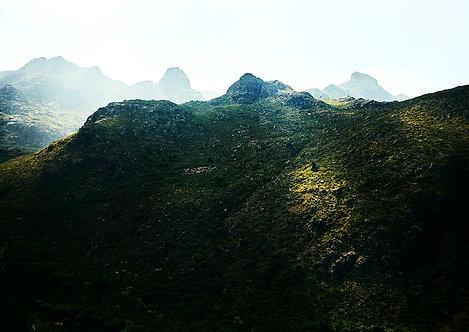 landscape in serra da estrela portugal