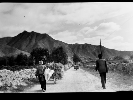 A travel from the past to China with analogue camera