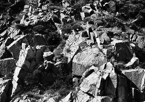 rocky landscape in national park