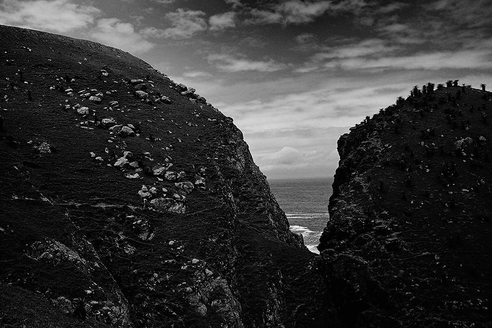xhosa coastal landscape in eastern cape