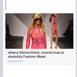Instagram - #poznatiinfo #bfw #bfw36 #belgradefashionweek #GeorgeStyler #vip #star #model #models #balkan