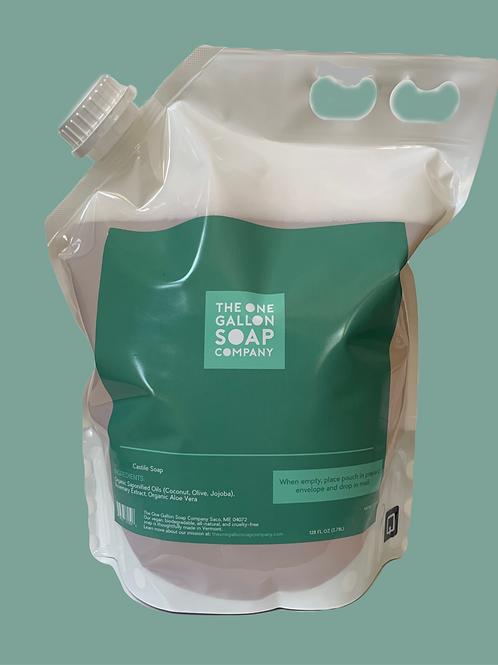 Castile Soap Reusable Refill - 128oz