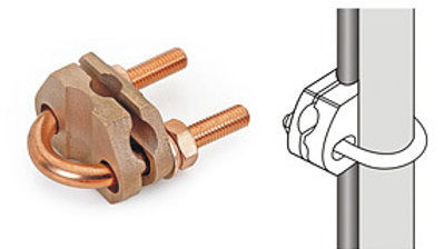 U-Bolt Rod to Cable Clamp