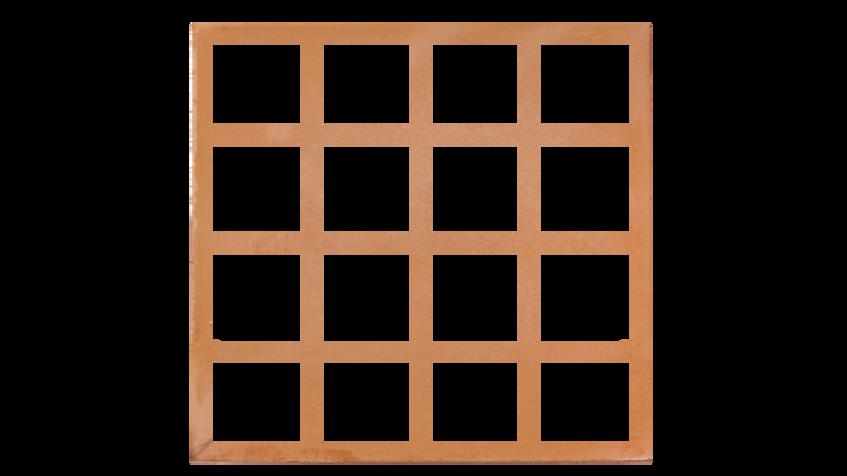 Copper Lattice Mat