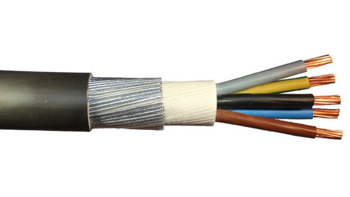 ARMOURED AUXILLIARY CONTROL CABLE