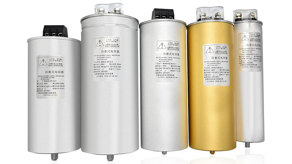 Round Capacitors