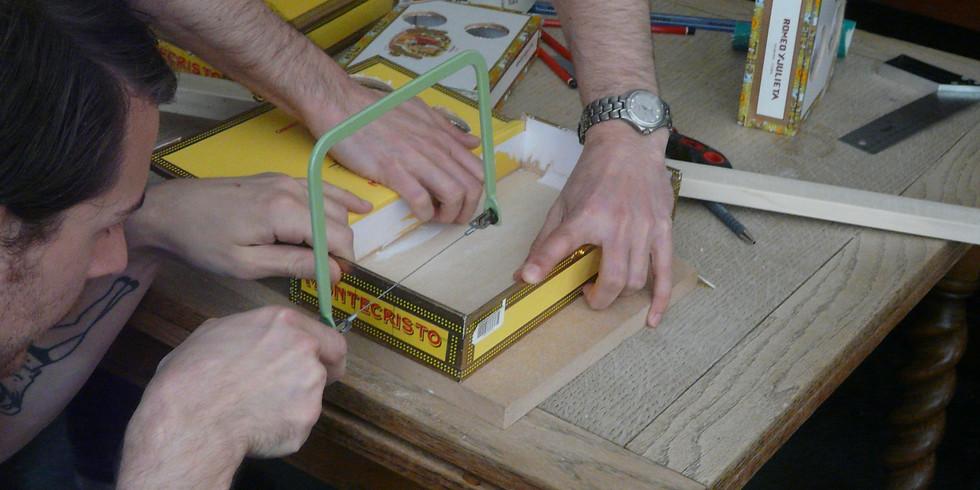 Cigar Box Guitar Workshop March 2020