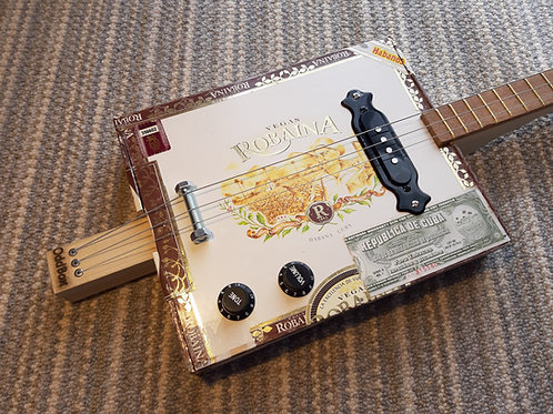 Robaina fretted with single coil pickup