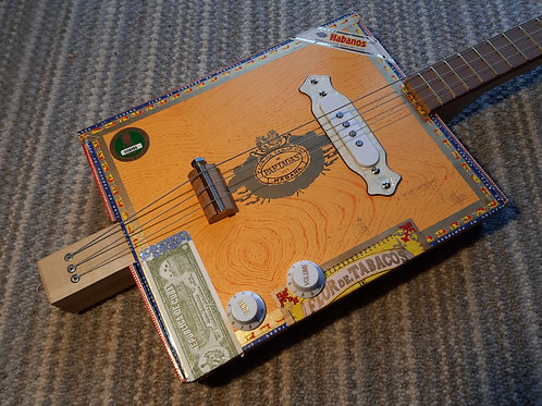 Partagas fretted with white single coil pickup