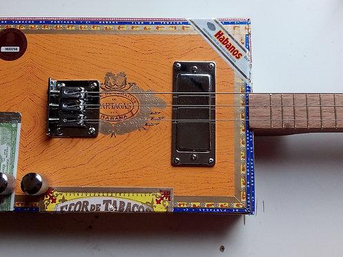 Partagas Cigar Box Guitar
