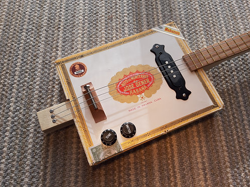Hoyo de Monterey fretted with pickup