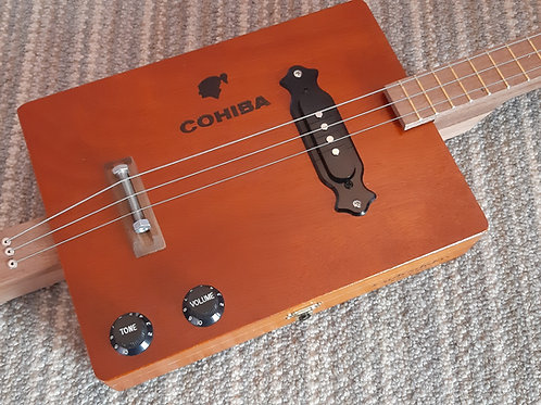 Cohiba fretted with single coil pickup