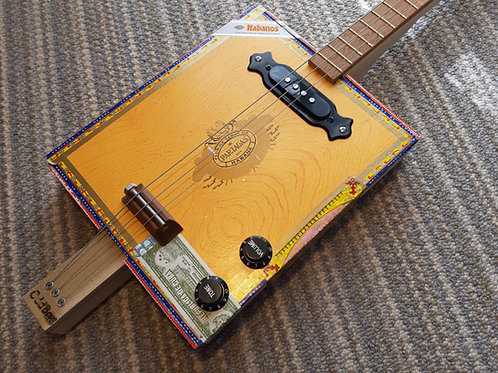 Partagas fretted with black single coil pickup