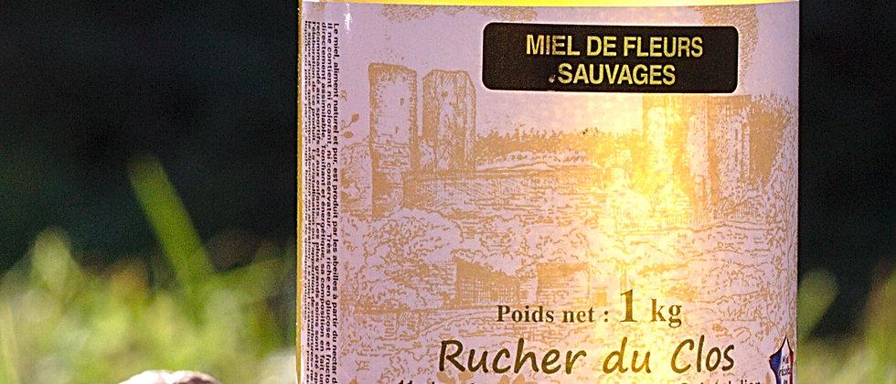 Miel de Fleurs Sauvages Liquide 1 kg