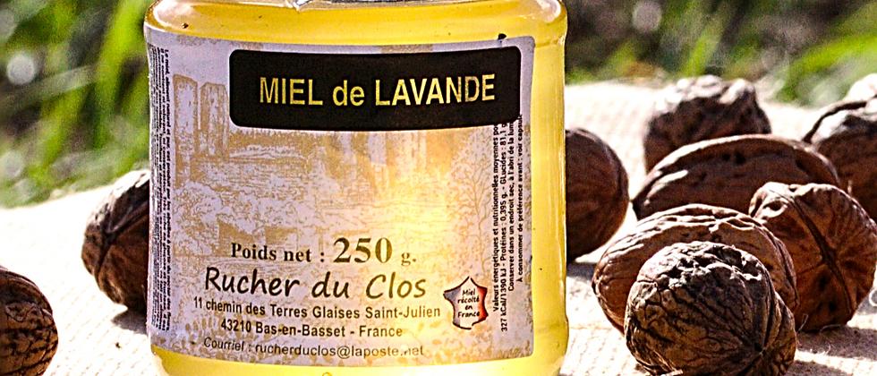 Miel de Lavande 250 gr