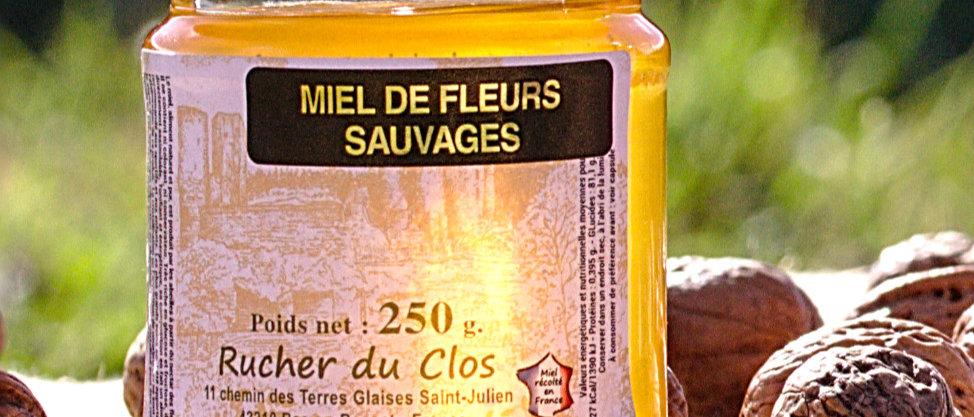 Miel de Fleurs Sauvages Liquide 250 gr